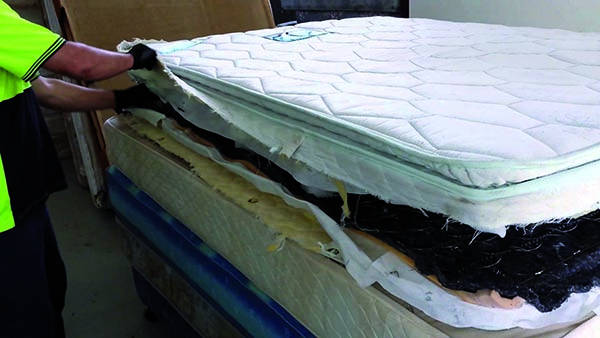 Mattress Recycling Council's Bye Bye Mattress program